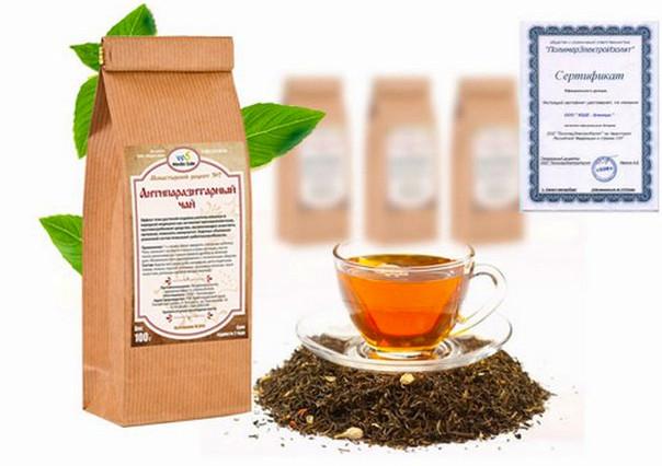 чай против паразитов в организме